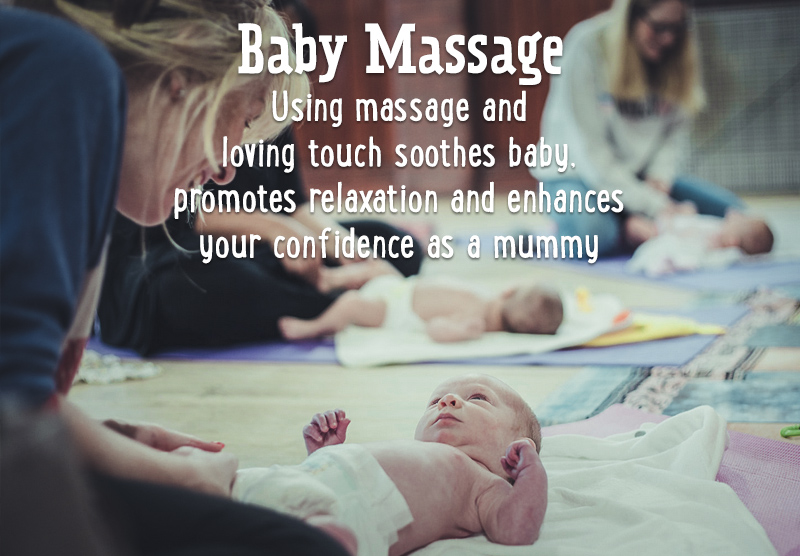 For Baby & Me baby massage