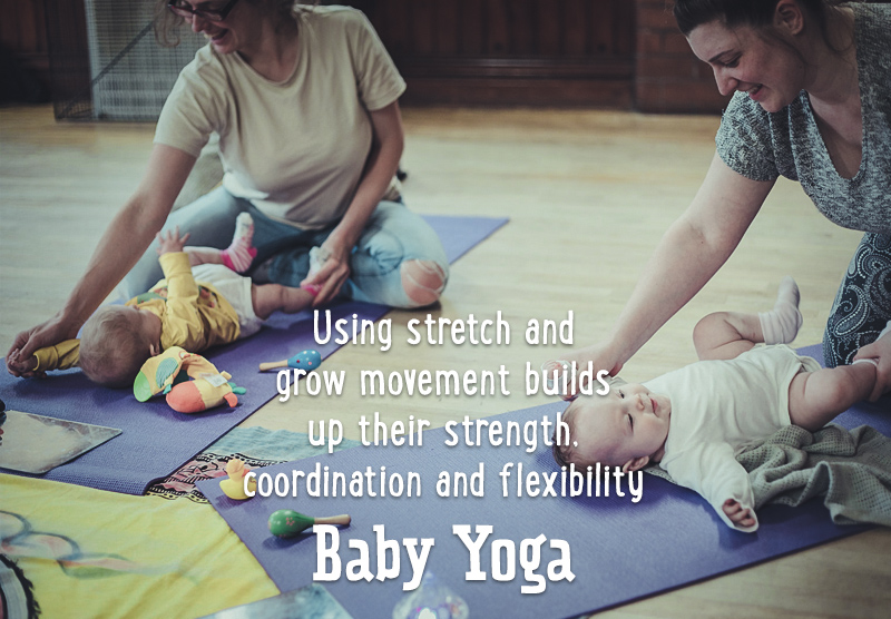 For Baby & Me baby yoga